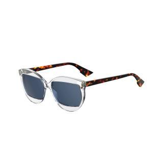 Dior Perspex Clear/Tortoiseshell DiorMania2 Sunglasses