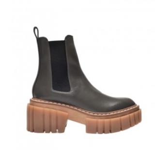 Stella McCartney Grey Emilie Ankle Boots