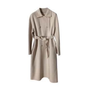 Max Mara Double Face Wool Double Breasted Coat