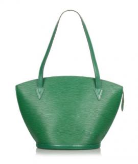 Louis Vuitton Green Epi Leather Vintage Saint Jacques GM Long Strap