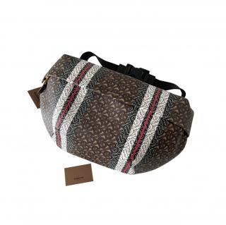 Burberry Brown Horseferry Monogram Sonny XL Belt Bag