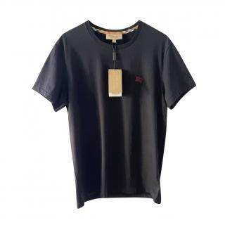 Burberry Joe-Forth Black Cotton T-Shirt