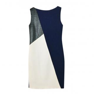 Roksanda Fitted Colourblock Shift Dress
