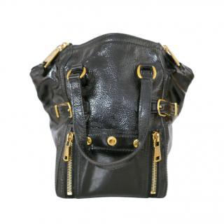 Yves Saint Laurent Black Vintage Mini Downtown bag