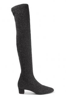 Giuseppe Zanotti Black Lurex OTK Boots