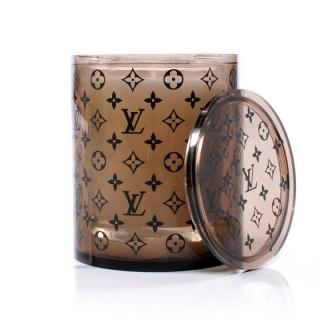 Louis Vuitton VIP Gift Candle & Monogram Candle Holder