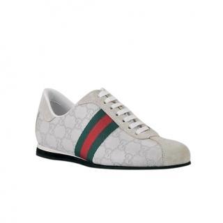 Gucci Icon Guccissima Web Sneakers
