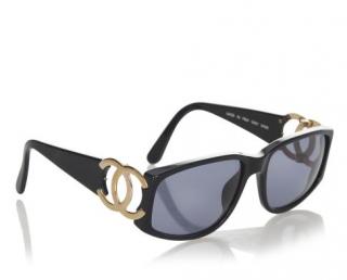 Chanel 02461 CC Black sunglasses