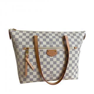 Louis Vuitton Damier Azur Iena MM Tote Bag