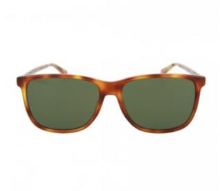 Gucci Square-Frame Tortoiseshell Sunglasses