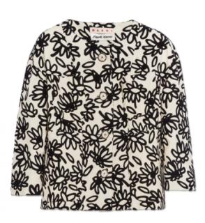 Marni x Frank Naviun Ivory Floral Print Jacket