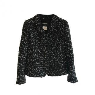 Chanel 2006 Black Fantasy Tweed Jacket size 40 - 42