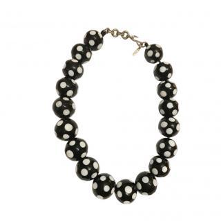 Yves Saint Laurent Vintage Domino Necklace