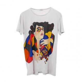 Miu Miu Vintage Harlequin T-Shirt