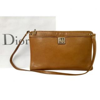 Dior Tan Vintage Shoulder Bag