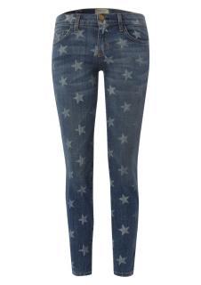 Current/Elliott Star Print Skinny jeans