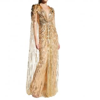 Jenny Packham 007 Embellished Cape Gown - As worn by Kate Middleton