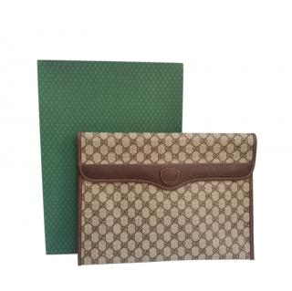 Gucci GG Monogram XL Clutch