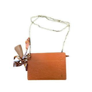 Louis Vuitton Tan Epi Leather Homme Clutch