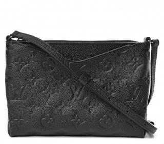 Louis Vuitton Black Monogram Empreinte Pallas BB Crossbody Bag