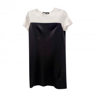 Ralph Lauren Black Label Bi-Colour Shift Dress