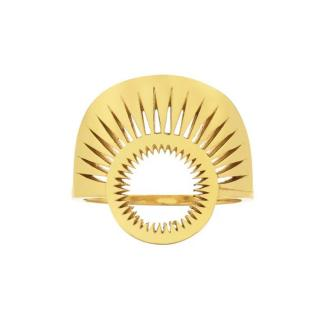 Zoe & Morgan Pocket Full of Sunshine 22kt Gold Plated Ring