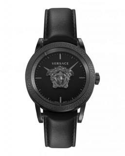 Versace Black 43mm Palazzo Empire Strap Watch