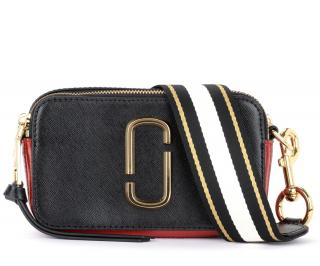 Marc Jacobs Black & Red Snapshot Camera Bag