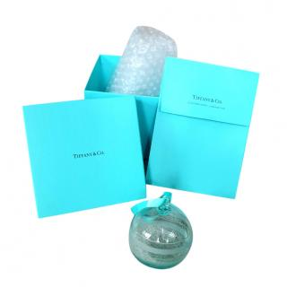 Tiffany & Co Clear Christmas Bauble