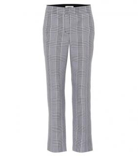 Dorothee Schumacher Prince of Wales Check High Rise Pants