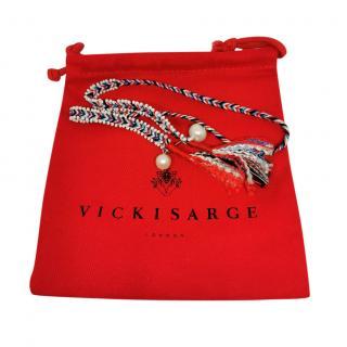 Vicki Sarge Oaybidah Hand Woven bracelet