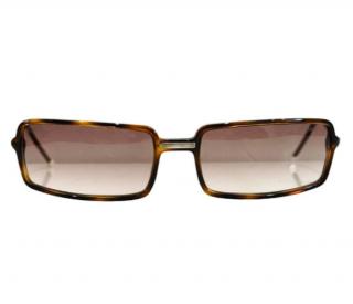 Chanel Rectangular Tortoiseshell 5047-H Vintage Sunglasses