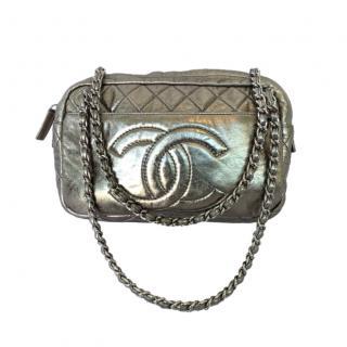 Chanel Metallic Leather CC Camera Bag