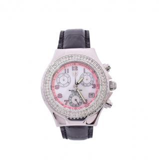 TechnoMarine 43mm Diamond Set Ladies Watch