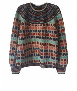Chanel Paris-Egypt Lurex Silk Blend Knit Jumper