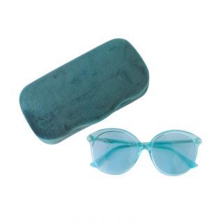 Gucci Blue Perspex Sunglasses