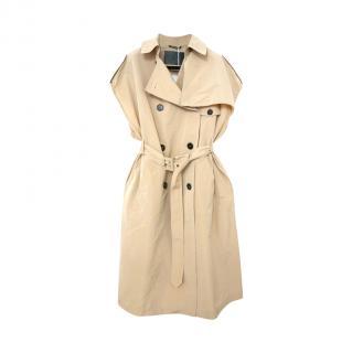 Givenchy Beige Cotton Blend Sleeveless Mac