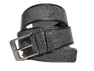 Hidetoshi Black Stingray Belt