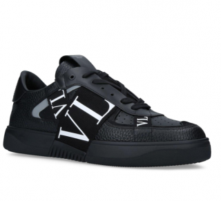 Valentino Vl7n Sneaker With Bands In Calf Leather