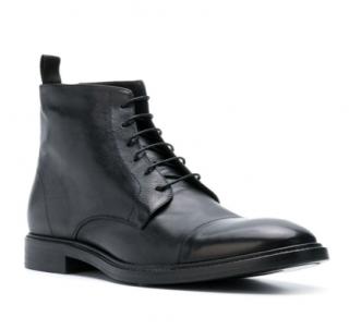 Paul Smith Mens Black Jarman Boots