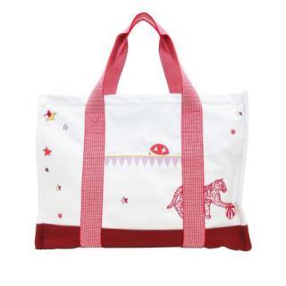 Hermes Circus Canvas Nappy Bag