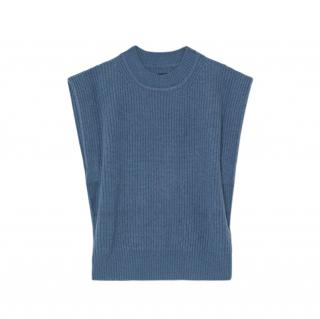 Isabel Marant Sleeveless Ribbed Knit Bridget Jumper