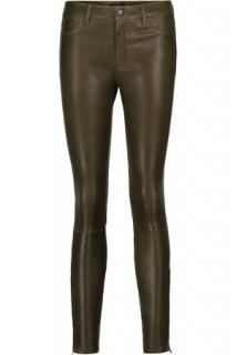 J Brand Khaki leather Pants