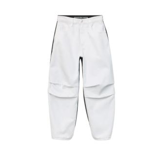 Alexander Wang Black & White Hybrid Cargo Jeans