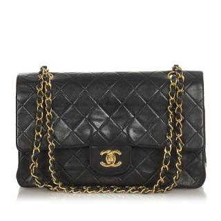 Chanel Small Lambskin Leather Double Flap Bag