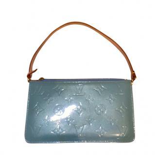 Louis Vuitton Blue Monogram Vernis Pochette