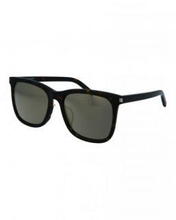 Saint Laurent Black Square Sunglasses