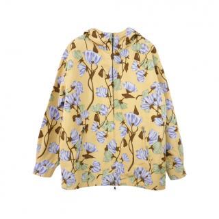 Prada Floral print Silk Taffeta Jacket