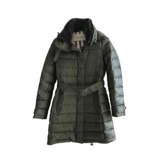 Burberry Brit Quilted Down Jacket