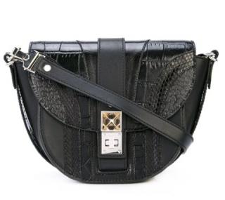 Proenza Schouler Exotic Patchwork PS11 Saddle Bag